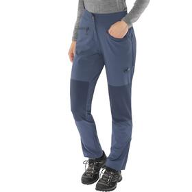 Mammut Pordoi - Pantalon Femme - regular bleu